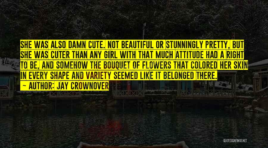 Colored Skin Quotes By Jay Crownover