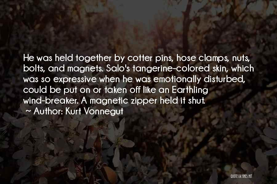Colored Skin Quotes By Kurt Vonnegut