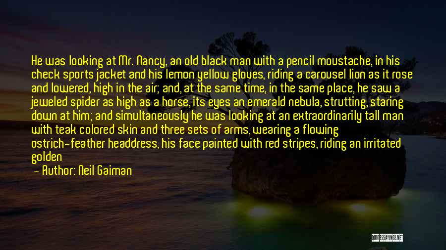 Colored Skin Quotes By Neil Gaiman