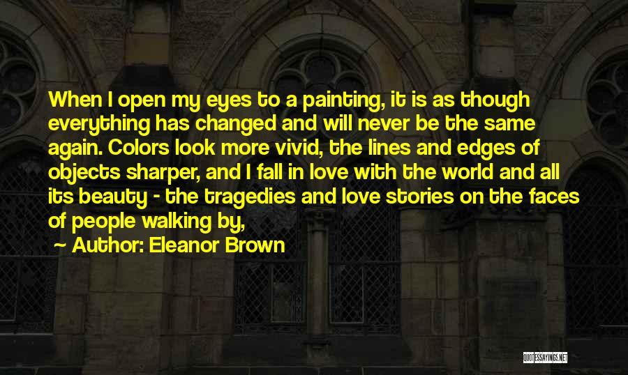 Colors Of Fall Quotes By Eleanor Brown