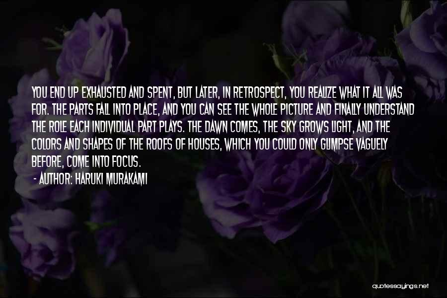Colors Of Fall Quotes By Haruki Murakami