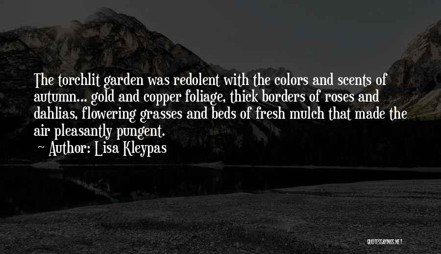 Colors Of Fall Quotes By Lisa Kleypas