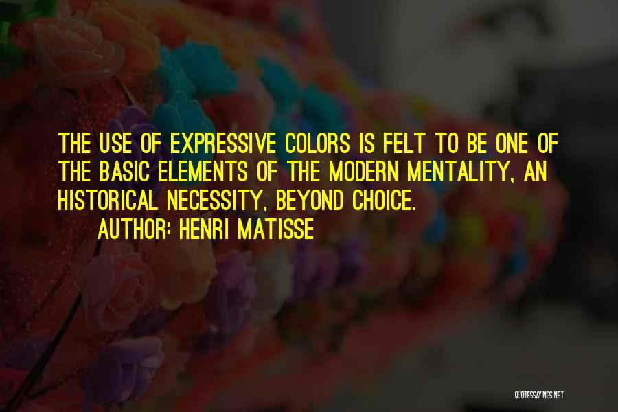Colors Of The Rainbow Quotes By Henri Matisse