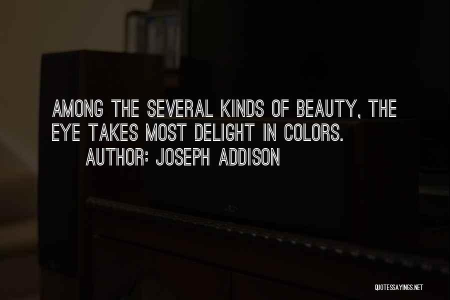 Colors Of The Rainbow Quotes By Joseph Addison