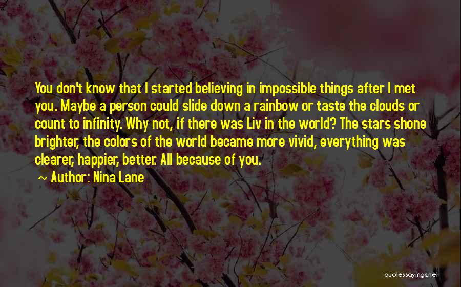 Colors Of The Rainbow Quotes By Nina Lane