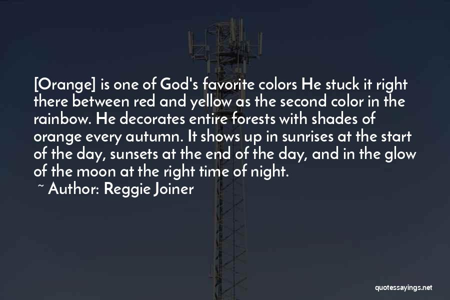 Colors Of The Rainbow Quotes By Reggie Joiner
