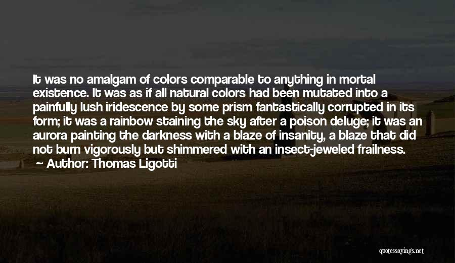 Colors Of The Rainbow Quotes By Thomas Ligotti