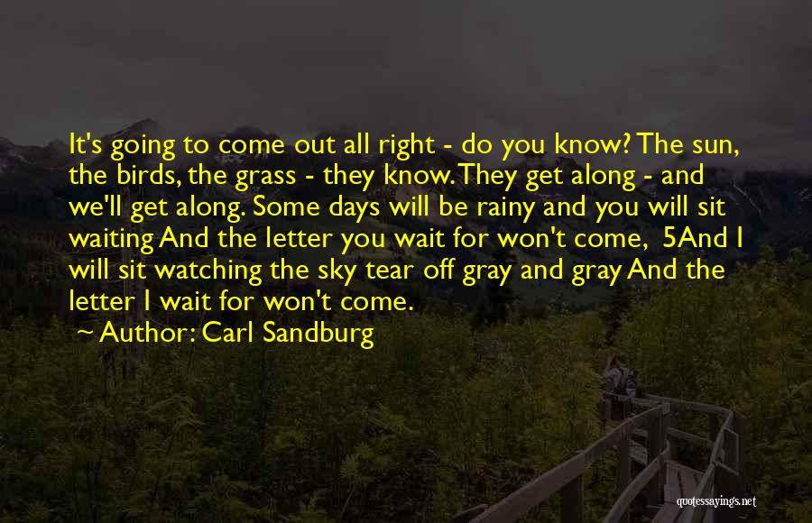 Come Along Quotes By Carl Sandburg