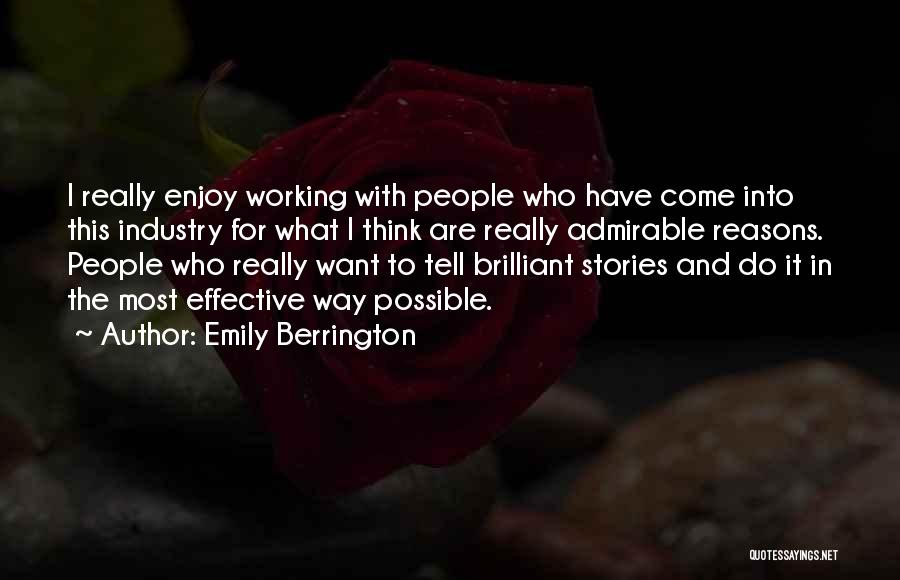 Come And Enjoy Quotes By Emily Berrington
