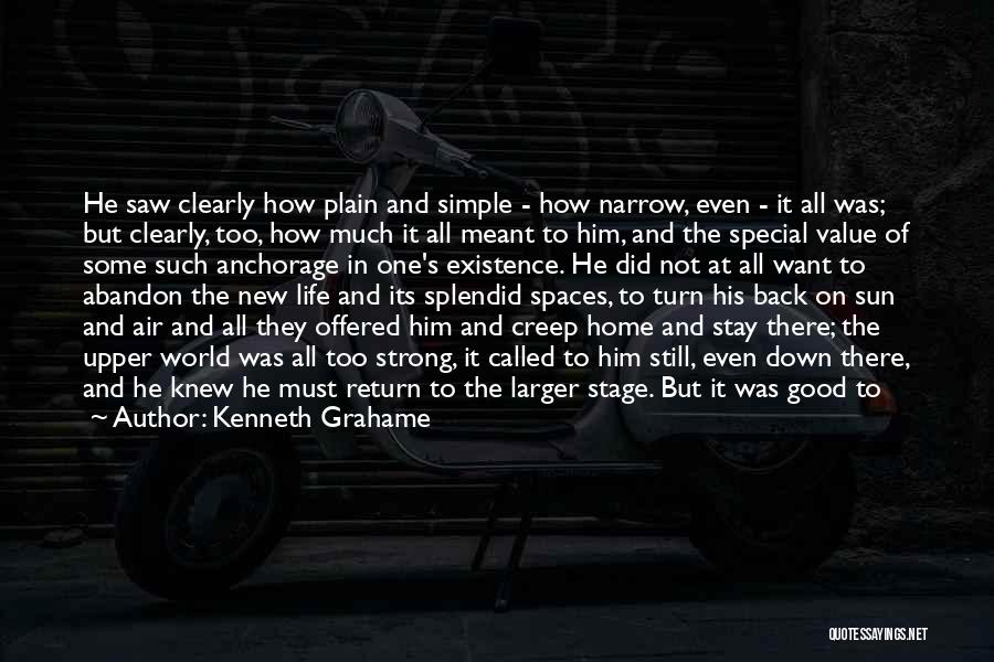 Come Back Home Quotes By Kenneth Grahame