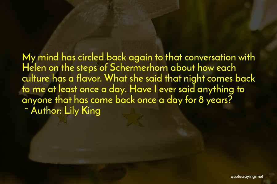 Come Back To Me Again Quotes By Lily King