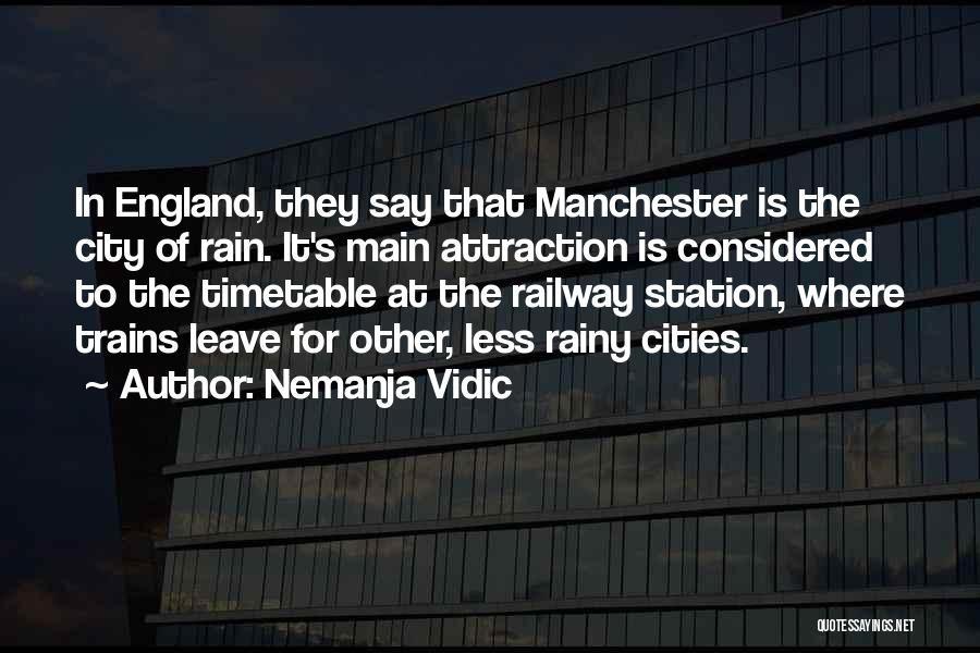 Come On England Football Quotes By Nemanja Vidic