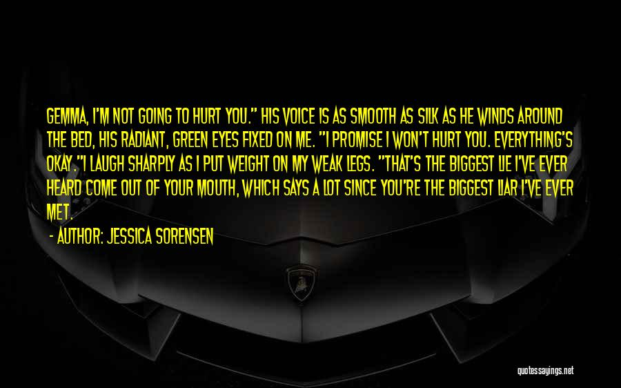 Come To Bed Eyes Quotes By Jessica Sorensen