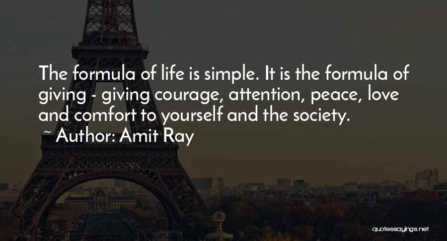 Comfort And Success Quotes By Amit Ray