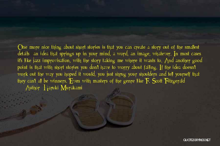 Comfort And Success Quotes By Haruki Murakami