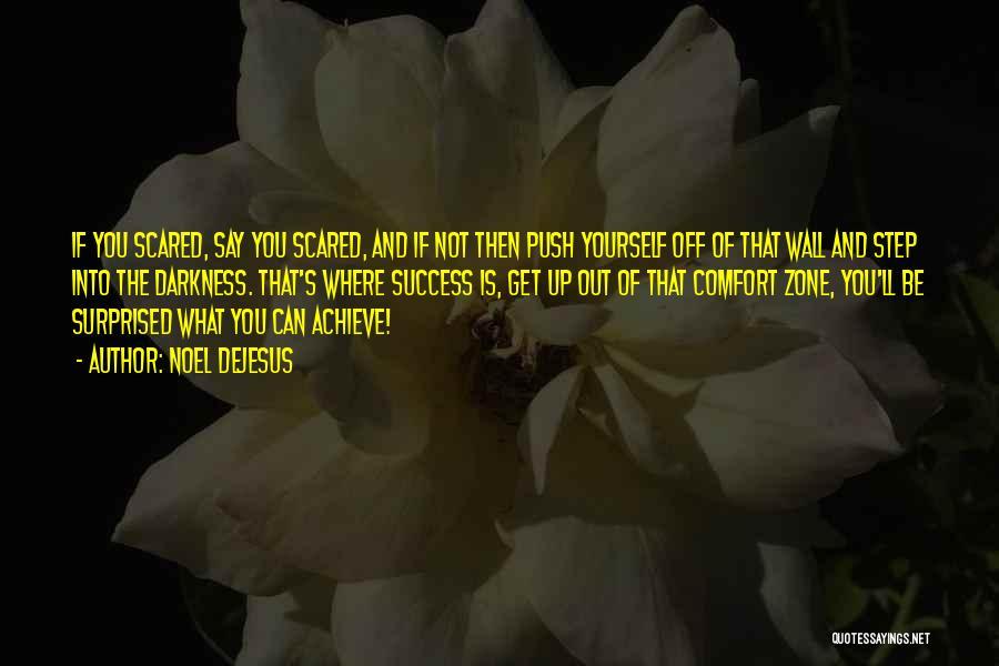 Comfort And Success Quotes By Noel DeJesus