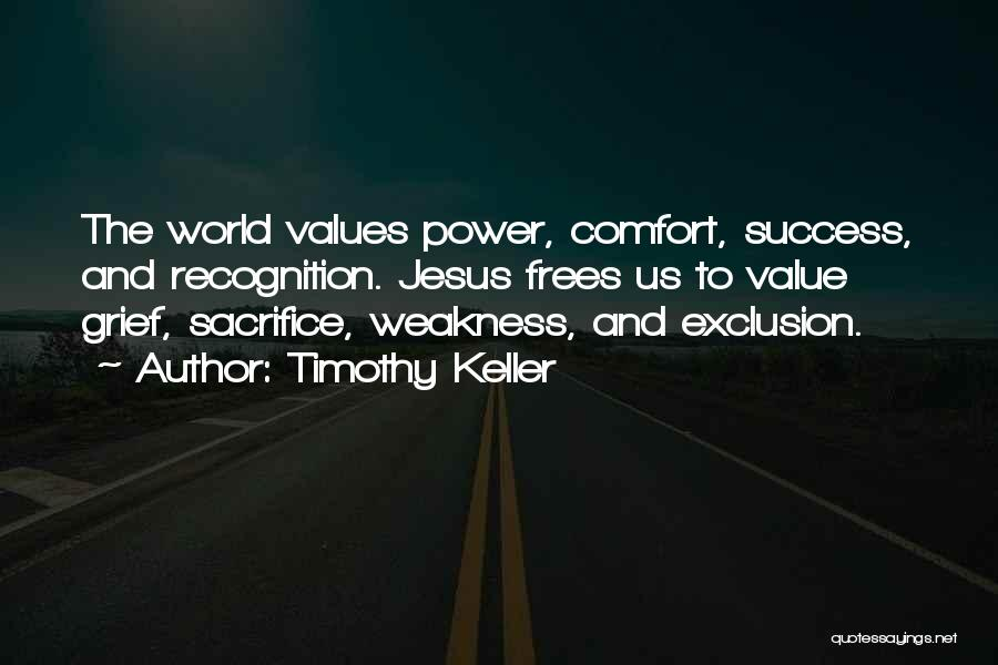 Comfort And Success Quotes By Timothy Keller