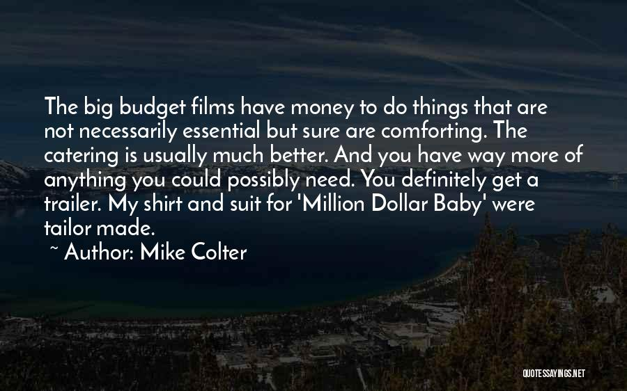 Comforting Yourself Quotes By Mike Colter
