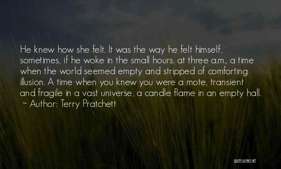 Comforting Yourself Quotes By Terry Pratchett