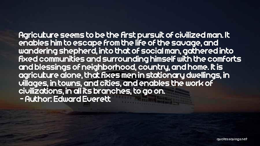 Comforts Of Home Quotes By Edward Everett