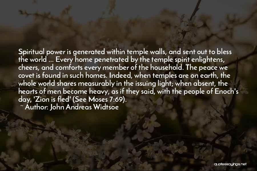 Comforts Of Home Quotes By John Andreas Widtsoe