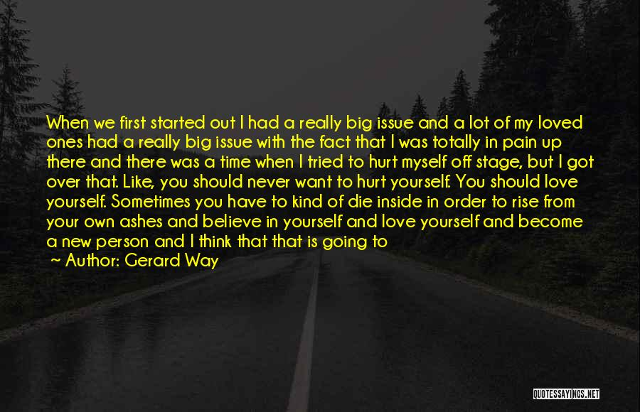 Coming Back To Love Quotes By Gerard Way