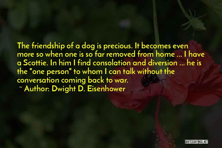 Coming Home To Your Dog Quotes By Dwight D. Eisenhower