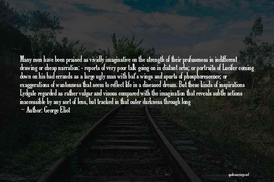Coming Out Of The Darkness Into The Light Quotes By George Eliot