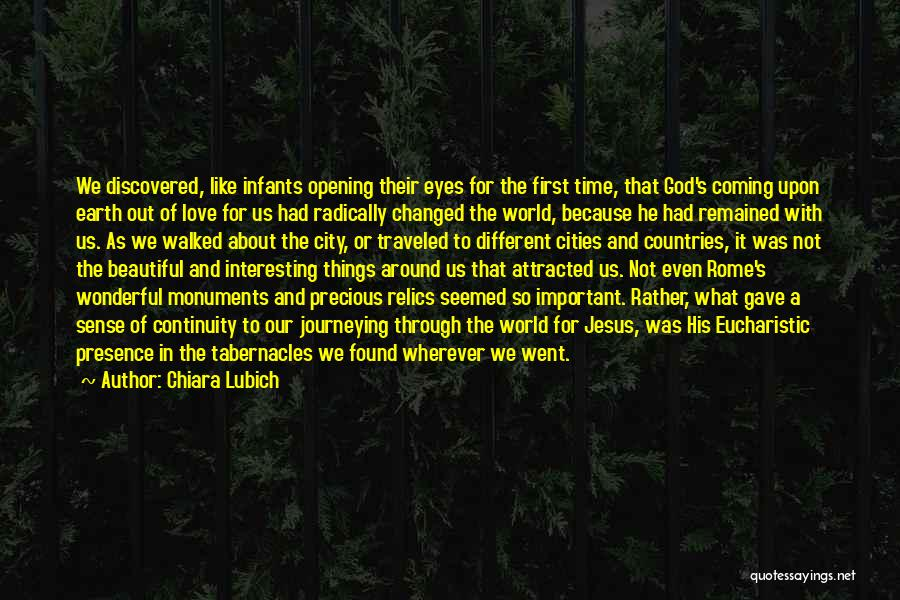 Coming To God Quotes By Chiara Lubich