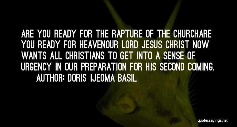 Coming To God Quotes By Doris Ijeoma Basil