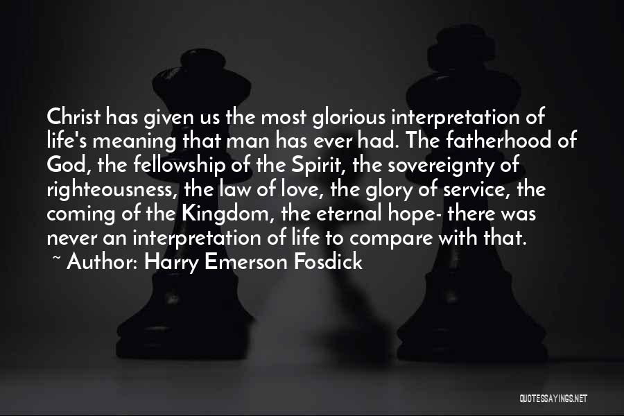 Coming To God Quotes By Harry Emerson Fosdick
