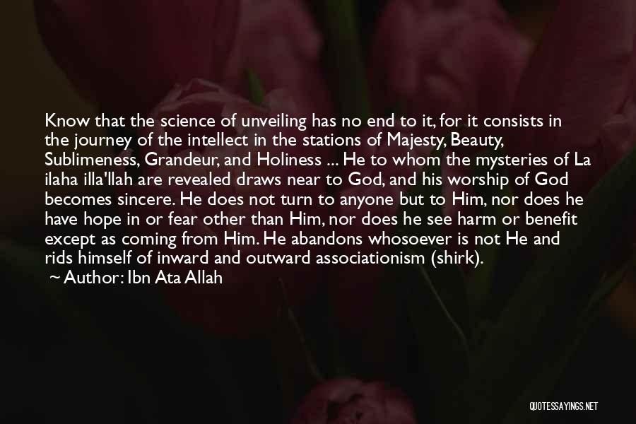 Coming To God Quotes By Ibn Ata Allah