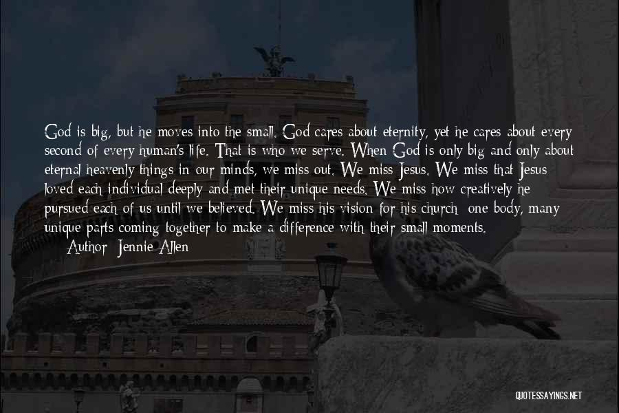 Coming To God Quotes By Jennie Allen
