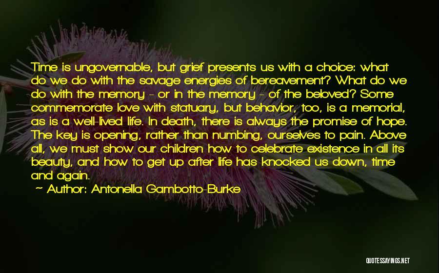Commemorate Quotes By Antonella Gambotto-Burke