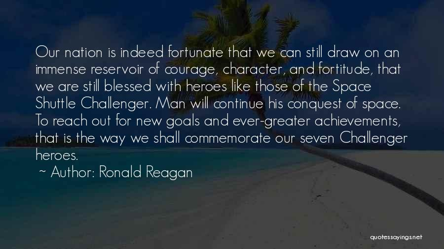 Commemorate Quotes By Ronald Reagan