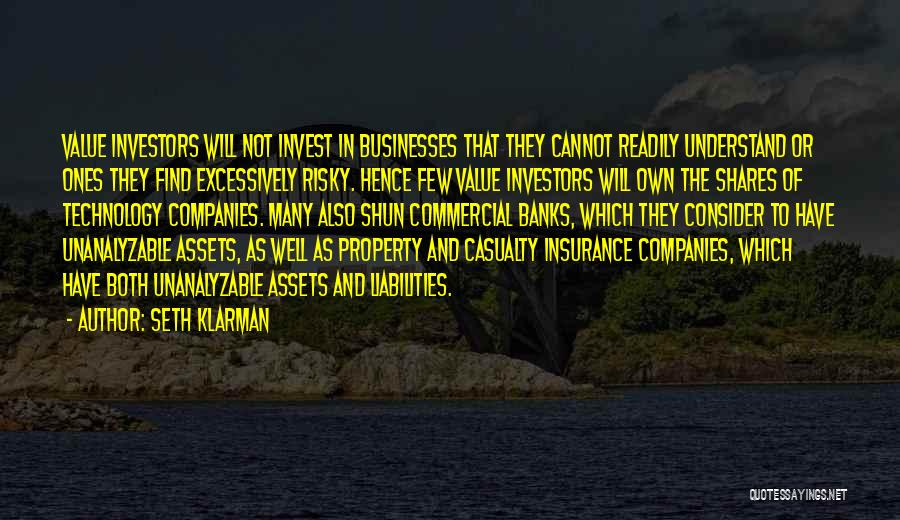 Commercial Insurance Quotes By Seth Klarman
