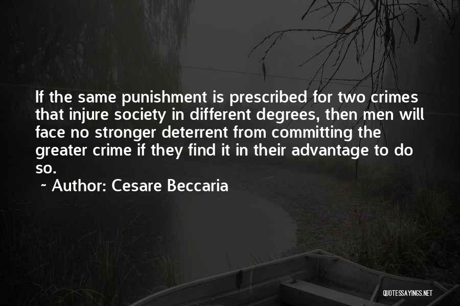 Committing Crimes Quotes By Cesare Beccaria