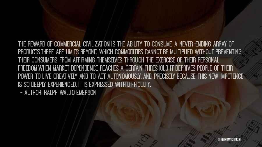 Commodities Live Quotes By Ralph Waldo Emerson