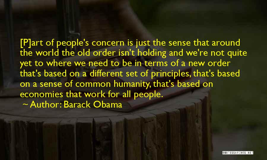 Common Humanity Quotes By Barack Obama