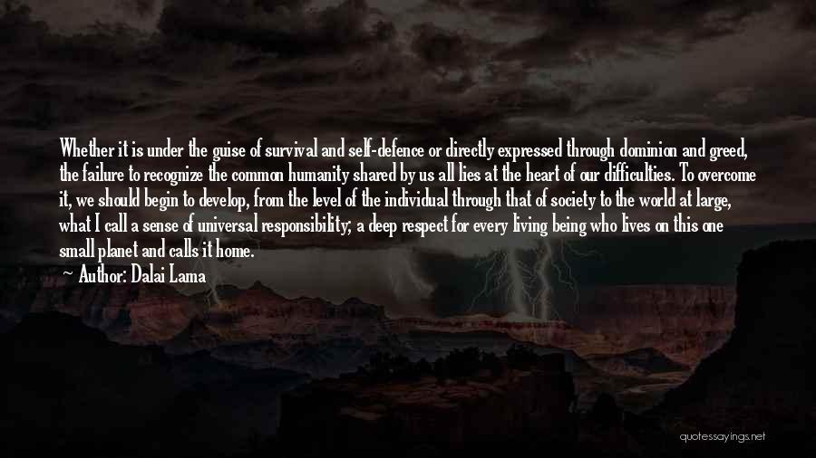 Common Humanity Quotes By Dalai Lama