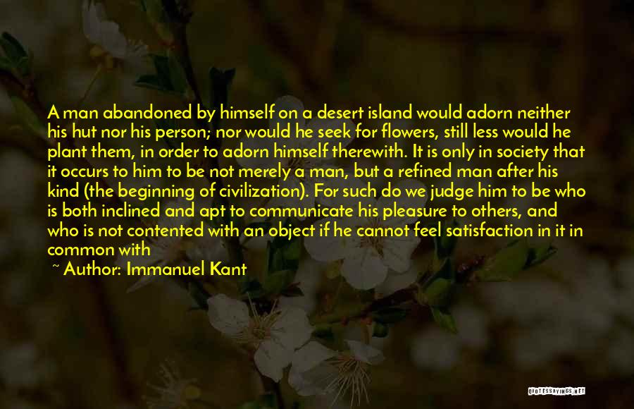 Common Humanity Quotes By Immanuel Kant