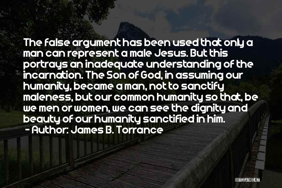 Common Humanity Quotes By James B. Torrance