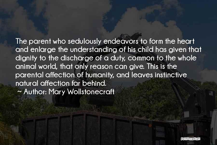 Common Humanity Quotes By Mary Wollstonecraft