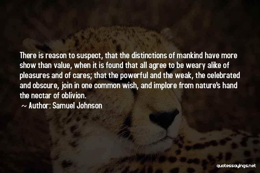Common Humanity Quotes By Samuel Johnson