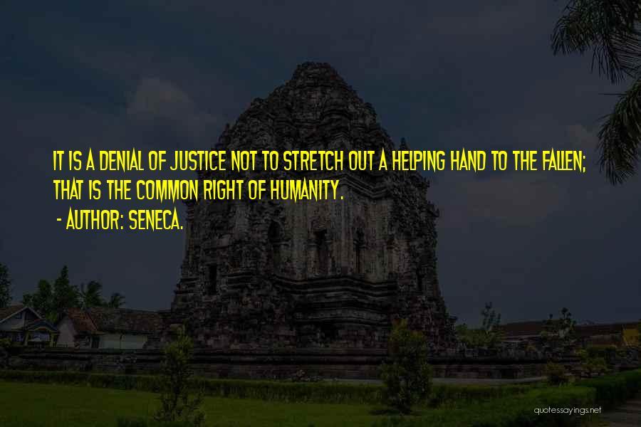 Common Humanity Quotes By Seneca.