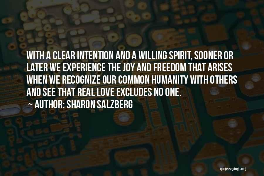 Common Humanity Quotes By Sharon Salzberg
