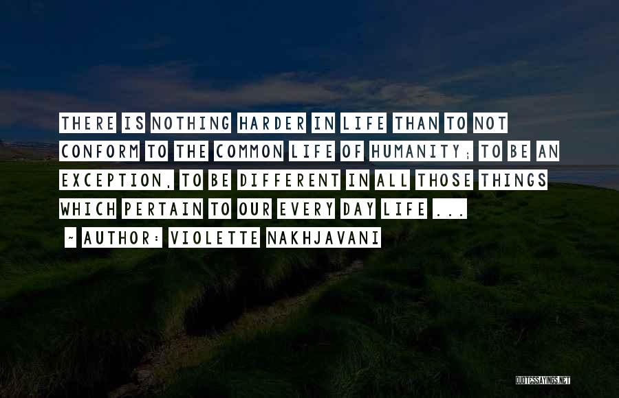 Common Humanity Quotes By Violette Nakhjavani