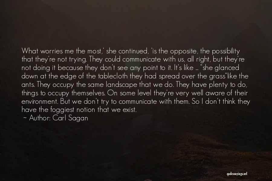 Communicate Well Quotes By Carl Sagan