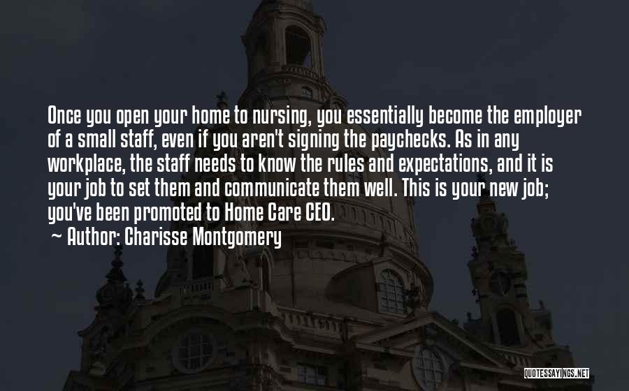 Communicate Well Quotes By Charisse Montgomery