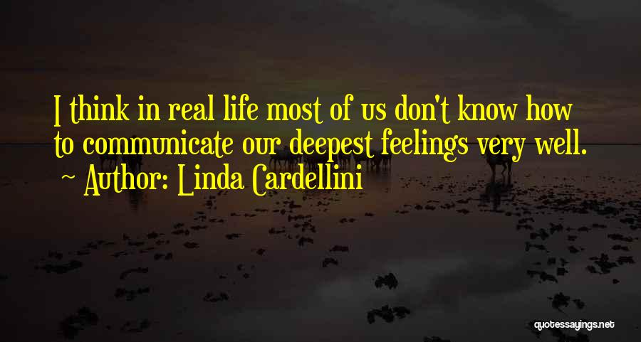 Communicate Well Quotes By Linda Cardellini